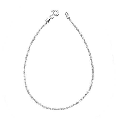 Sparkle Cut Sterling Silver Bracelet