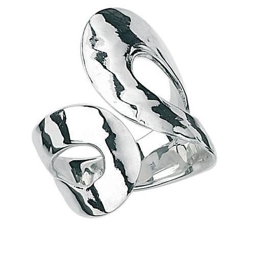 Open Loop Ring In Sterling Silver