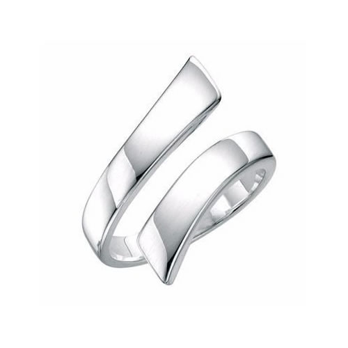 Spiral Sterling Silver Ladies Ring