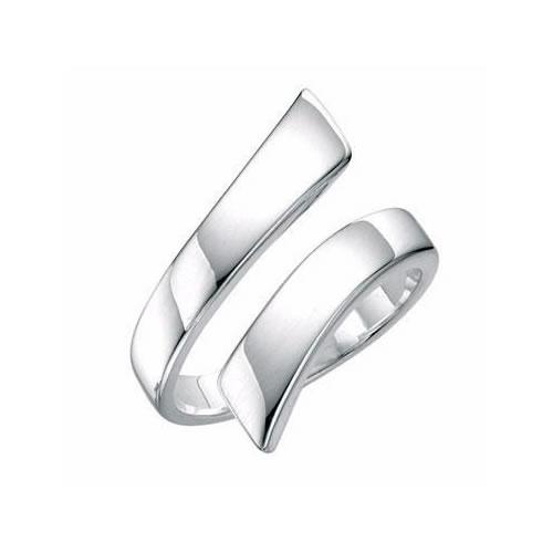 Spiral Sterling Silver Ladies Ring