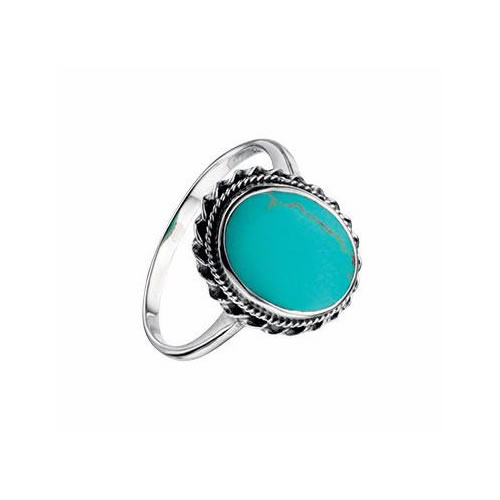Turquoise Colour 925 Silver Ring